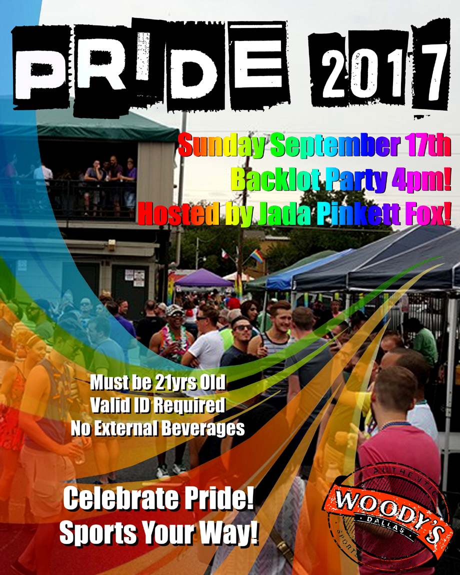 2017 Woody's Pride Backlot Party @ Dallas Woody's | Dallas | Texas | United States