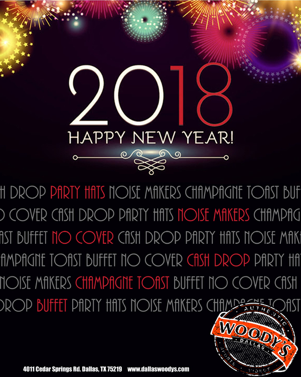 New Year's Eve 2018 @ Dallas Woody's | Dallas | Texas | United States