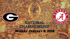 2018 CFP National Championship Game @ Dallas Woody's | Dallas | Texas | United States