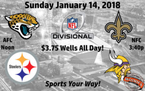 2018 Divisional Playoff Games @ Dallas Woody's | Dallas | Texas | United States