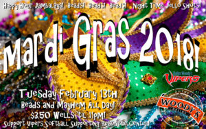 Mardi Gras Showtunes Tuesday @ Dallas Woody's | Dallas | Texas | United States