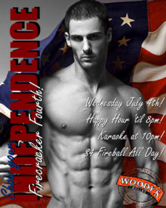Show your INDEPENDENCE Firecracker Fourth @ Dallas Woody's | Dallas | Texas | United States