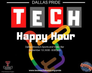 Texas Tech Alumni Association Pride Happy Hour @ Dallas Woody's | Dallas | Texas | United States