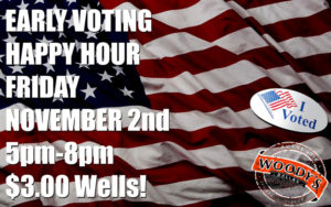 2018 Early Voting Happy Hour Party @ Dallas Woody's | Dallas | Texas | United States