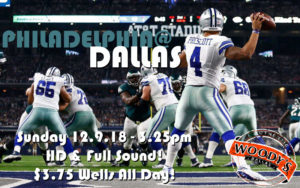Cowboys Watch Party Philly at Dallas @ Dallas Woody's | Dallas | Texas | United States