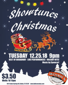 Showtunes Christmas! @ Dallas Woody's | Dallas | Texas | United States