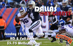 Cowboys Watch Party Dallas at NY Giants @ Dallas Woody's | Dallas | Texas | United States