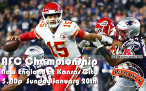 AFC Championship Watch Party @ Dallas Woody's | Dallas | Texas | United States