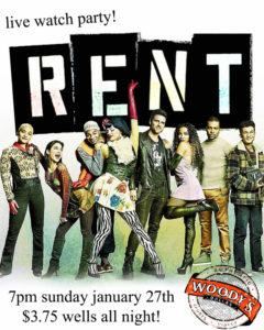 RENT Live Watch Party at Woody's @ Dallas Woody's | Dallas | Texas | United States