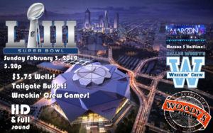 SUPERBOWL LIII Watch Party! @ Dallas Woody's | Dallas | Texas | United States