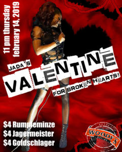 Valentine for Broken Hearts with Jada Pinkett Fox @ Dallas Woody's | Dallas | Texas | United States