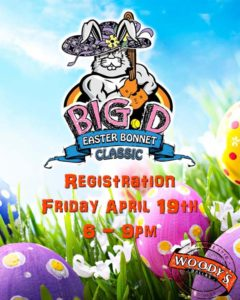 Big D Easter Bonnet Classic Registration @ Dallas Woody's | Dallas | Texas | United States
