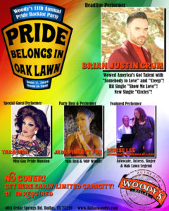 Pride Belongs In Oak Lawn @ Dallas Woody's | Dallas | Texas | United States