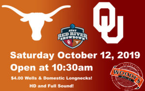 OU TX Game Day @ Dallas Woodys | Dallas | Texas | United States